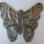 Textured Metal Butterfly