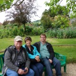 Family portrait at the home of Claude Monet