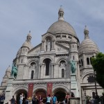Basilique of the Sacré Cœur at Montmartre in Paris